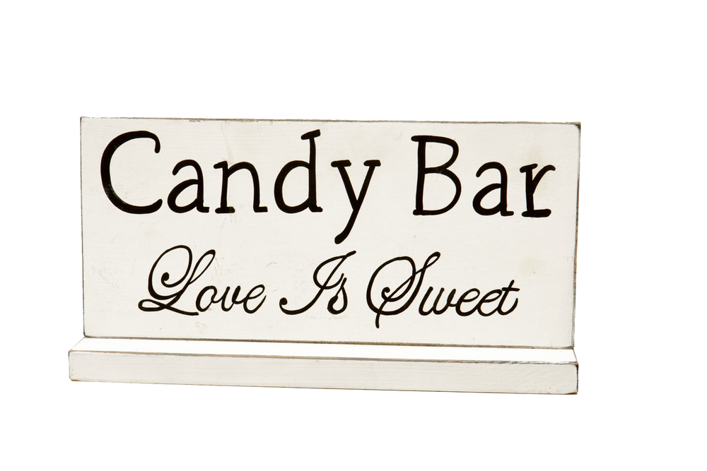 Candy Bar Sign 5-