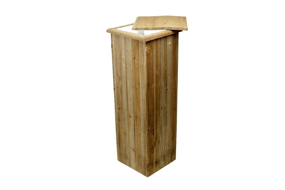 Wood Pedestal (39x14) 20-