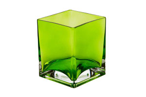 "Glass Cube (5"") 2-"