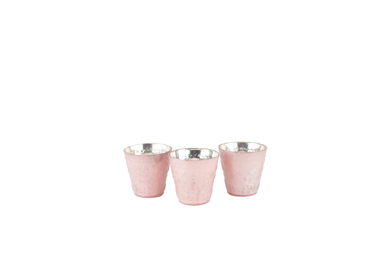 Pastel Pink Votive 1-