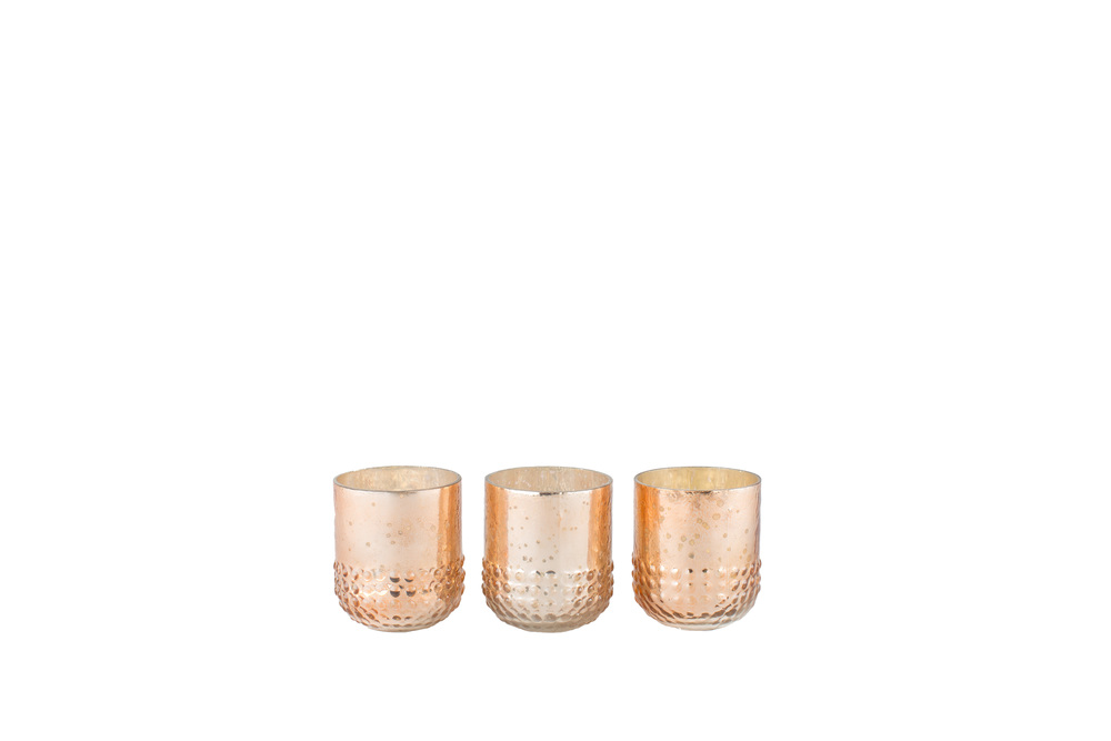Rose Gold Mercury Votive 1-