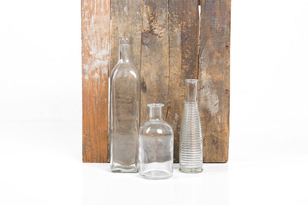 Vintage Bottles .75-