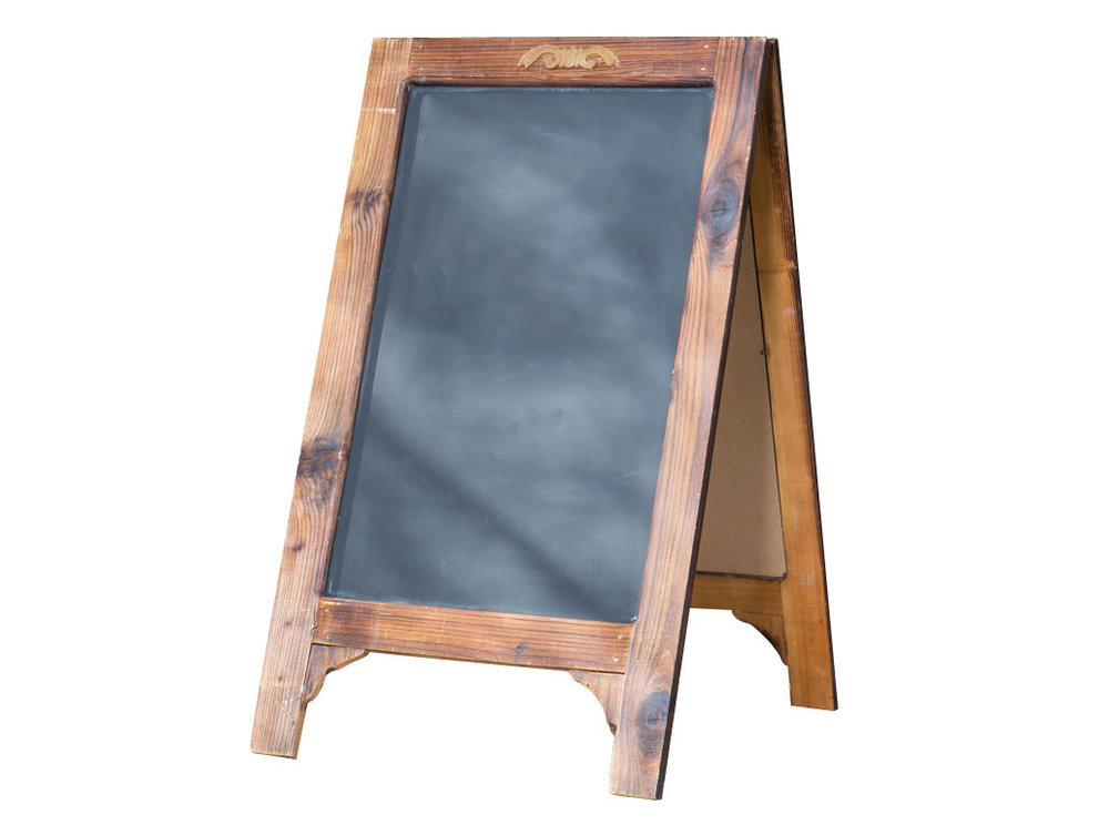 Brown Sandwich Chalkboard 10-