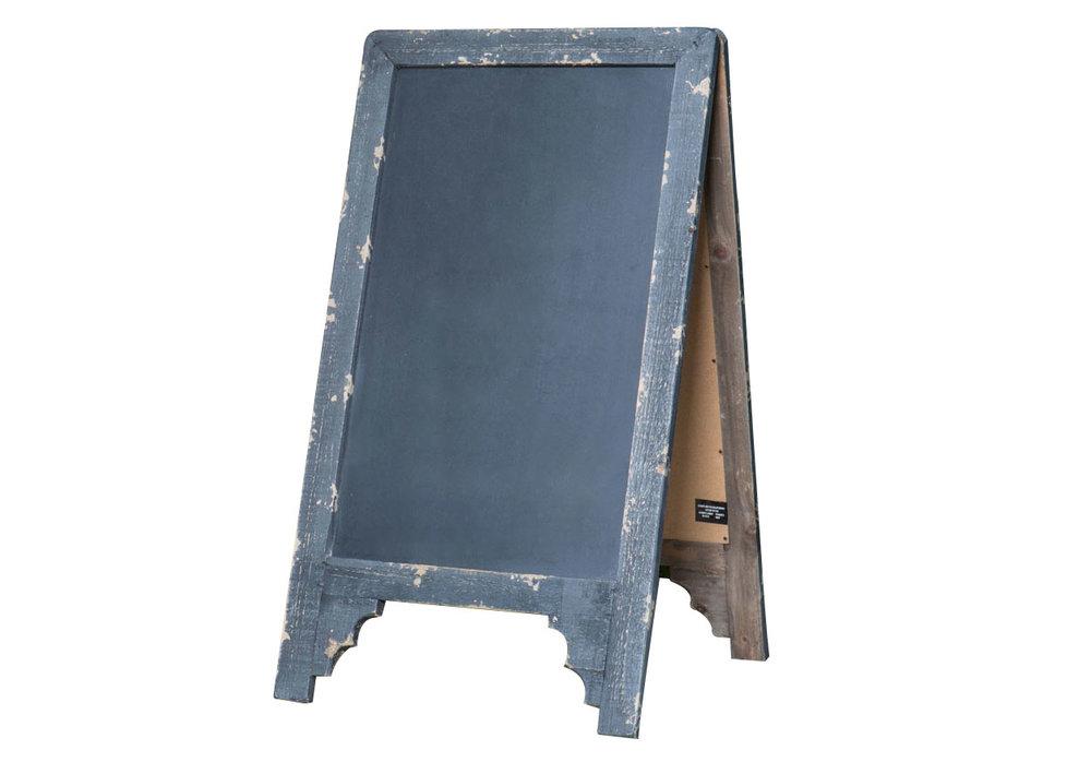 Black Sandwich Chalkboard 10-
