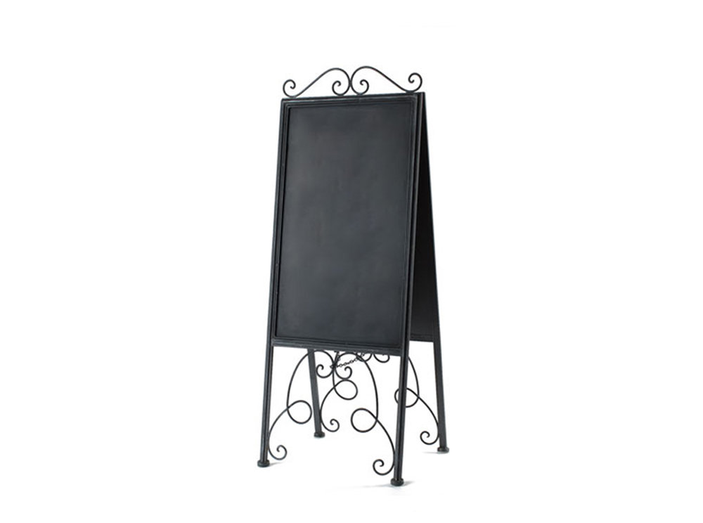 Metal Scroll Easel 10-