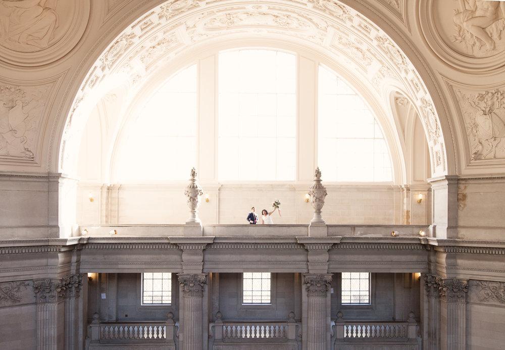 Hiroko & Daryl - City Hall, San Francisco CA
