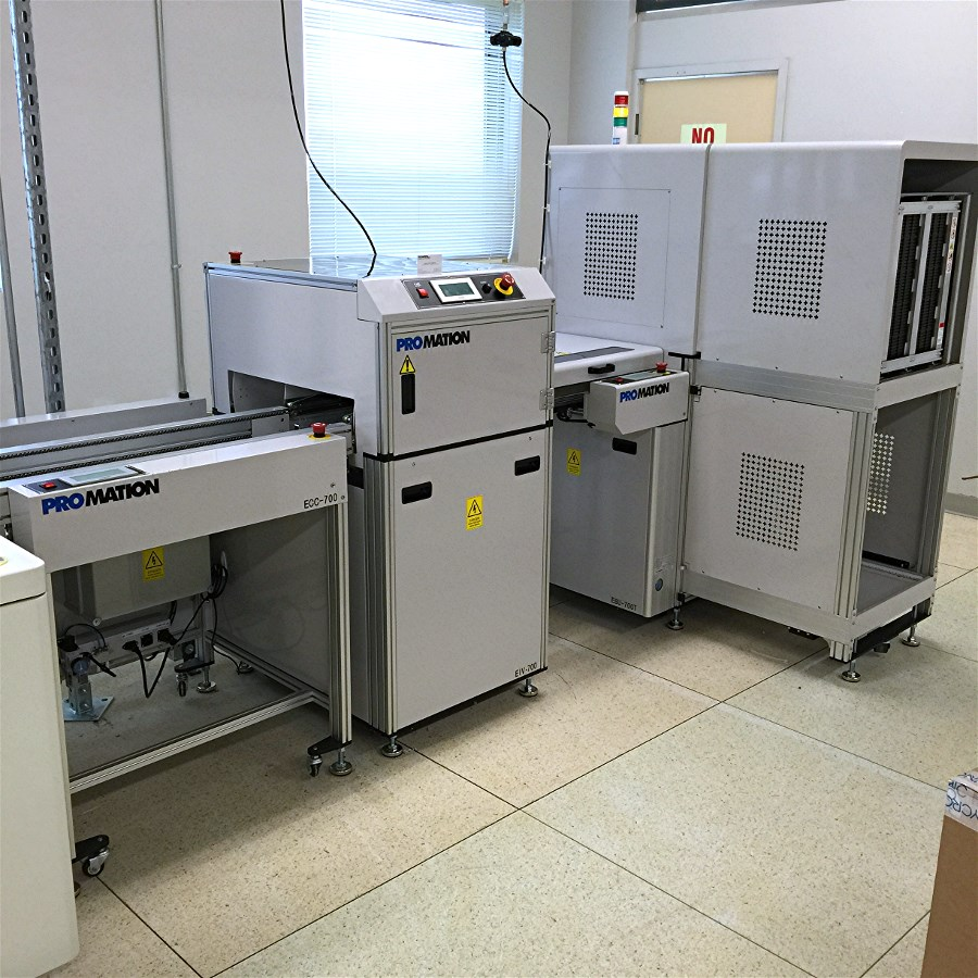 Line Unloader for PCB