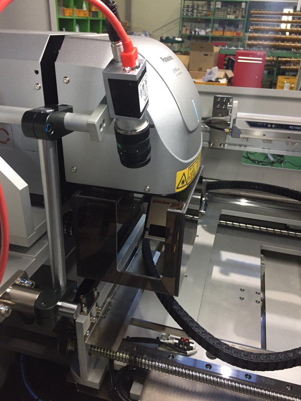 Panasonic LP-410 Laser Head PROAMTION Laser marking machine