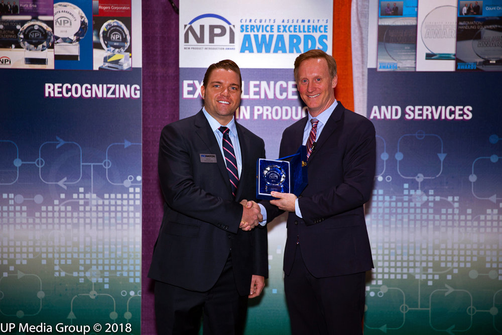 2018 New Product Innovation Award Recipient