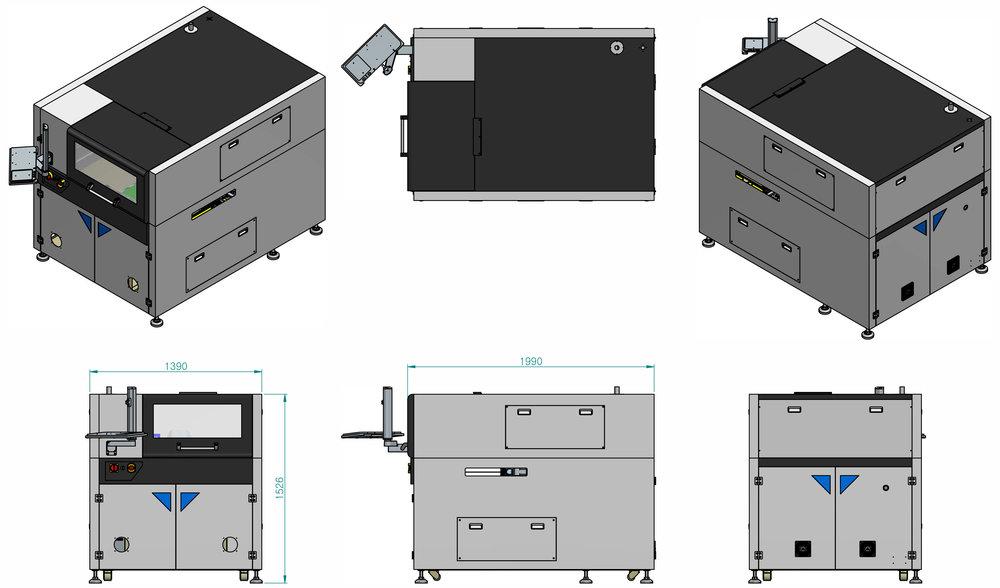 PCB Laser marking LM-100
