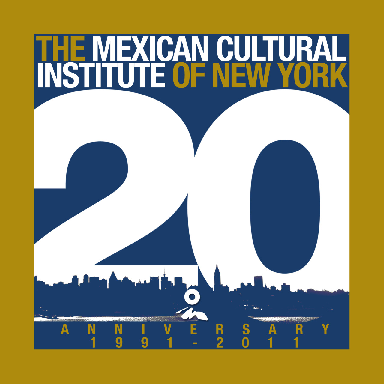 Annual Report 2011,  designed for the Mexican Cultural Institute of New York