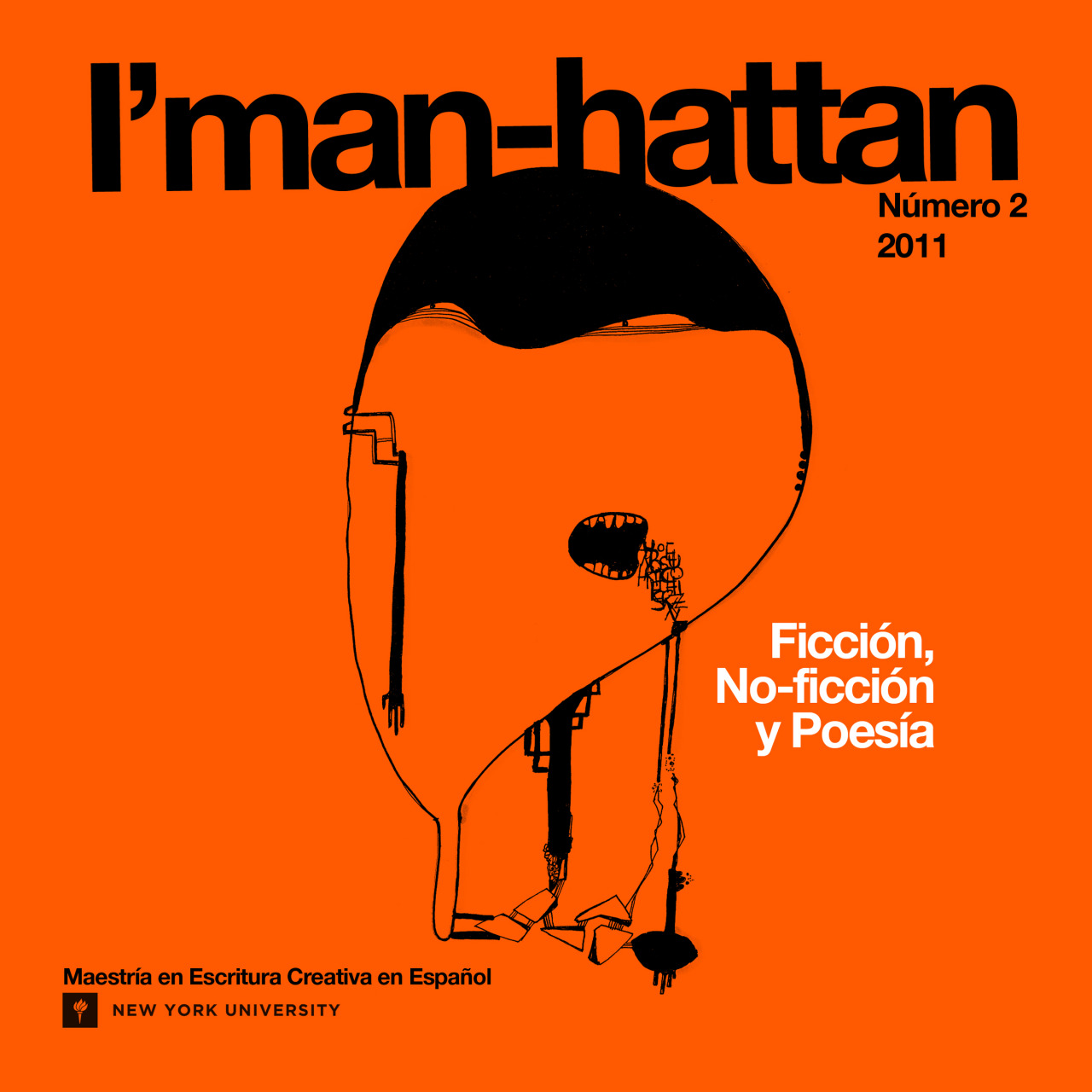 Imanhattan, issue #2, Design by Chris Yong-Garcia