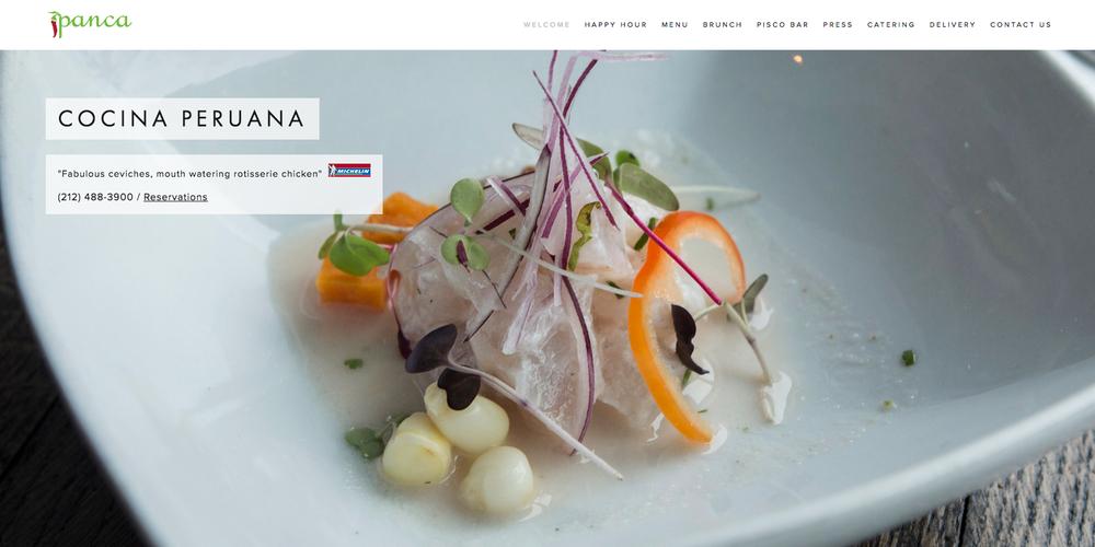 Panca Restaurant www.pancany.com