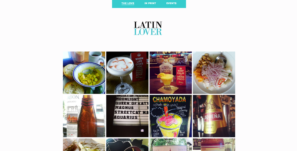 Latin Lover Food & Travel Magazine    www.latinlover.us