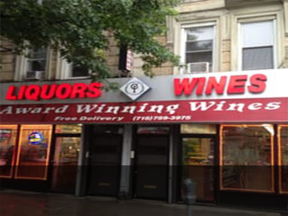 Grand Plaza Liquors 764 Washington Ave Brooklyn, NY 11238 Ph: (718) 789-3975