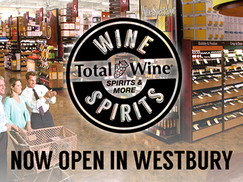 Total Wine & Spirits  1230 Old Country Road Westbury, NY 11590 Ph: (516) 357-0090