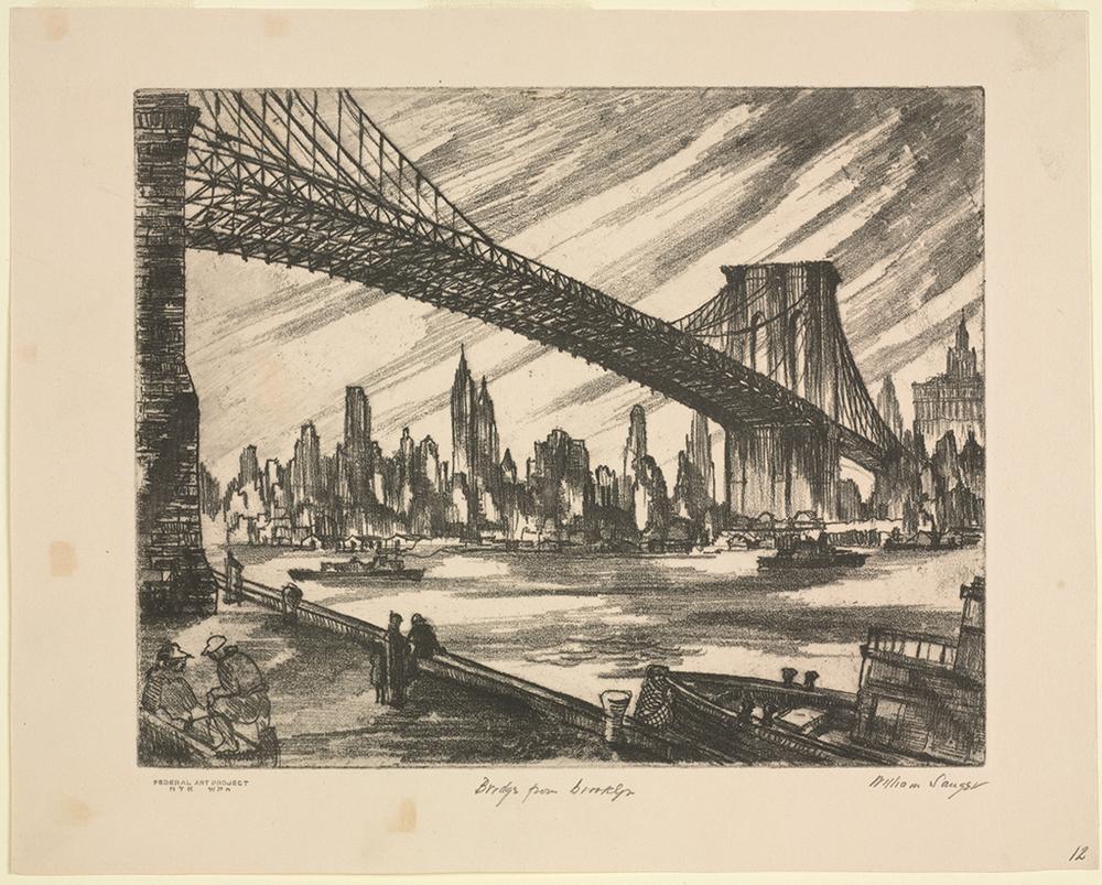 Bridge from Brooklyn