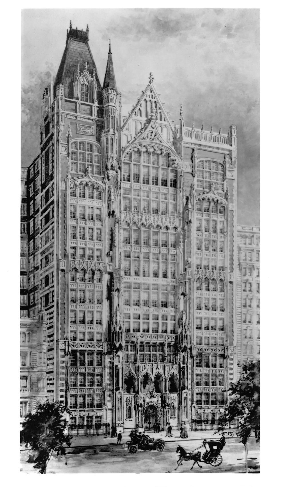 Rendering of Manhattan Square Studios