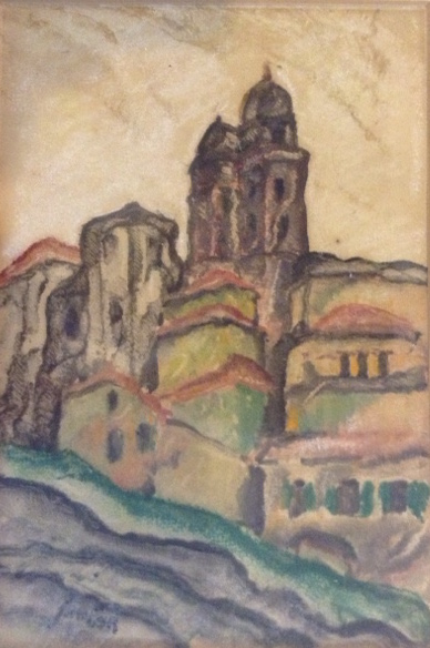 Litho - Spain - Village