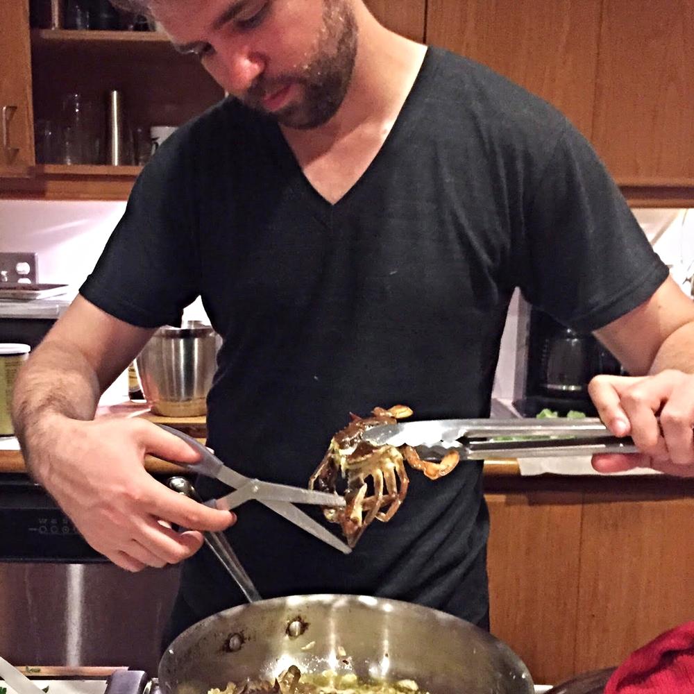 crab chop