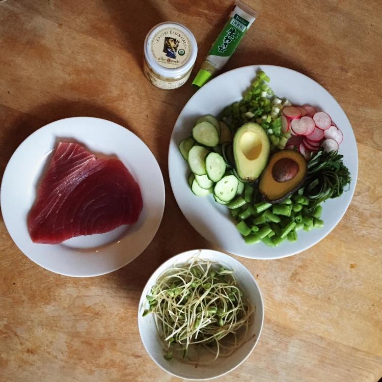 tuna bowl ingredients