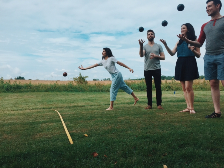 every day is a ball upstate! or so I've heard. (photo c/o Erika Rose, best photographer ever)