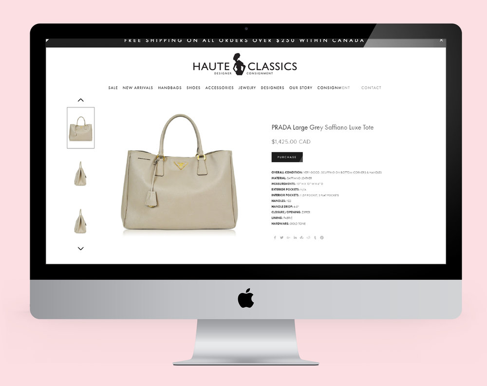 Product  Photgraphy - Shot handbags, shoes, accessories & clothing for website.
