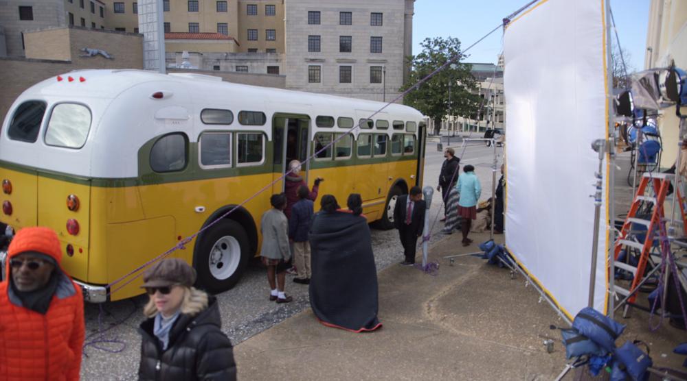 """Rosa Parks"" Cleveland Ave Bus (3D VR shoot)"