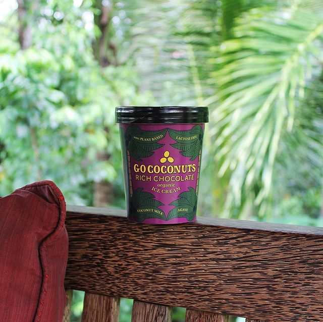 Back to the jungle (and the coconuts 😄) 🌴🌴🌴 . . . #gococonuts #organic #icecream #vegan #plantbased #glutenfree