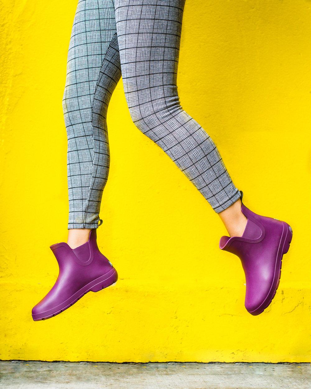 fun rain boots