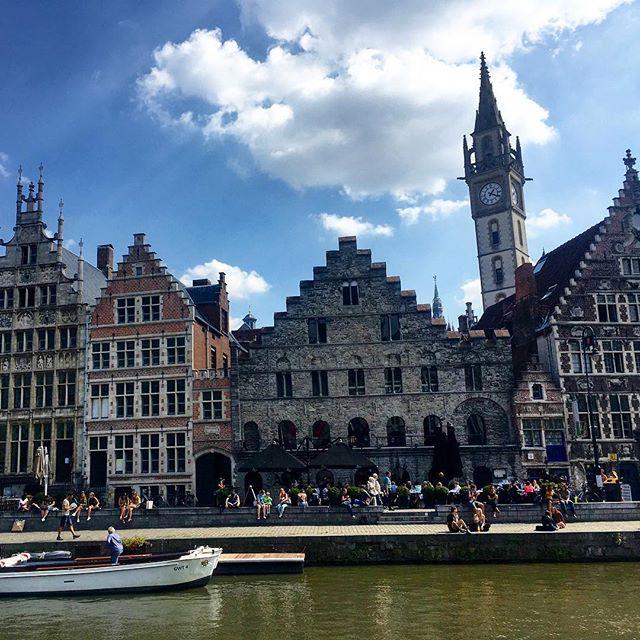 Ghent, you're wonderful!☀️📍🌍 #belgium #ghent #gent #worldtraveler #travel