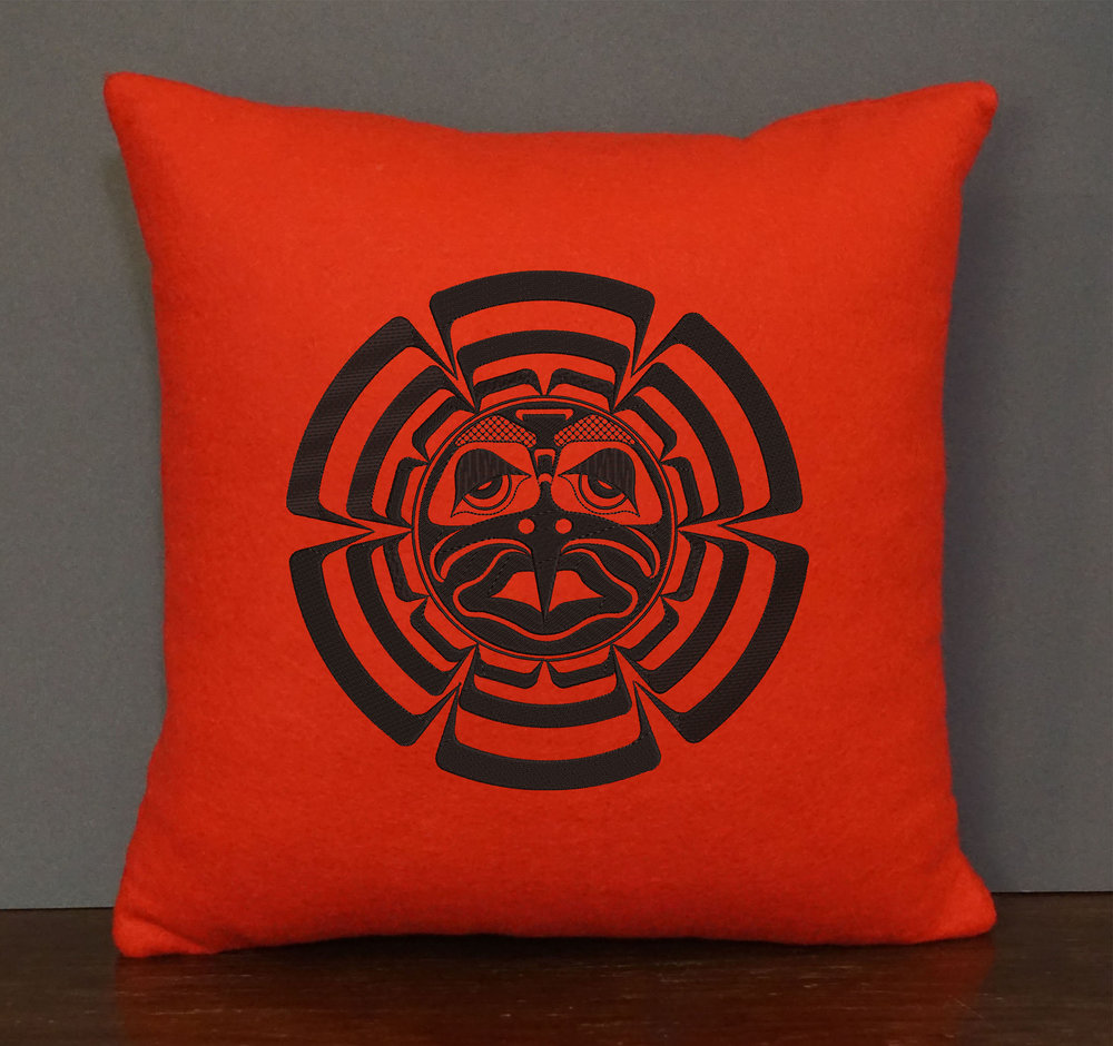 NATIVE SUN PILLOW  15 X 15   $90