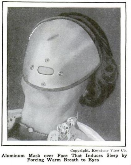 Looks like something that would provide a really long sleep. (Popular Mechanics, 1924)