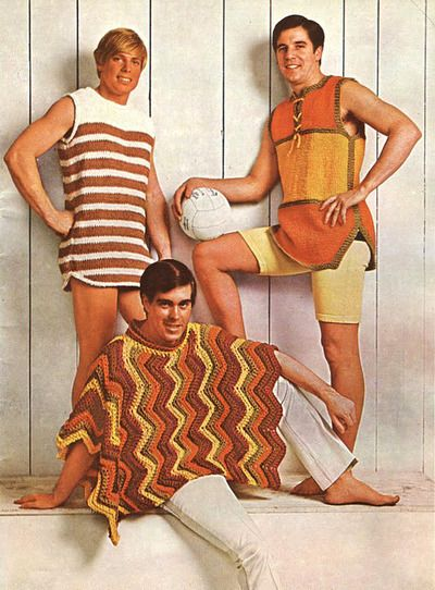 Crochet for men…Each one more terrifying than the last.
