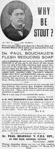 Flesh-reducing soap, now made with SIX types of corrosive bacteria!