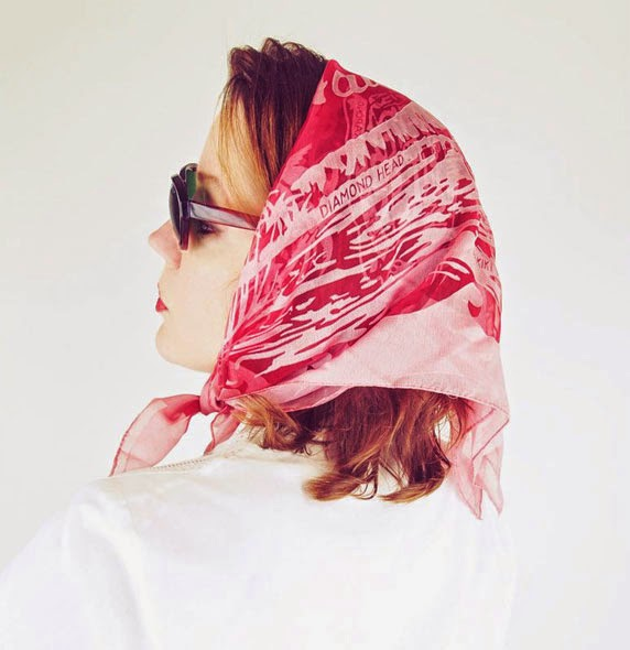 If you've got 'em, flaunt 'em (vintage scarves, that is!)