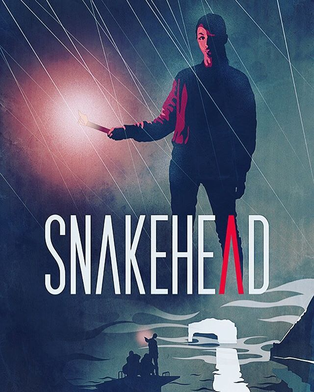 New Kickstarter Reward! Artwork by Jerry Ma @epicprops  11 more days! Spread the word! #snakeheadmovie