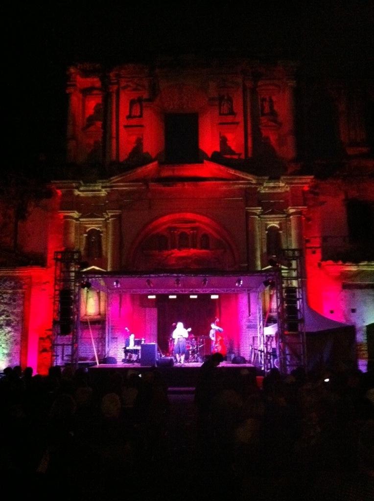 Live in Antigua, Guatemala, 2012