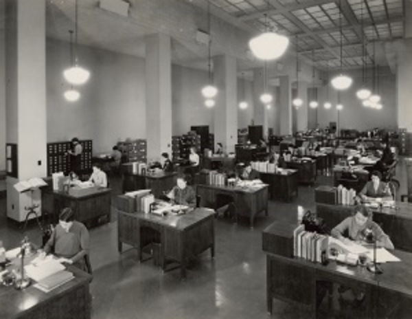 20th century workplace