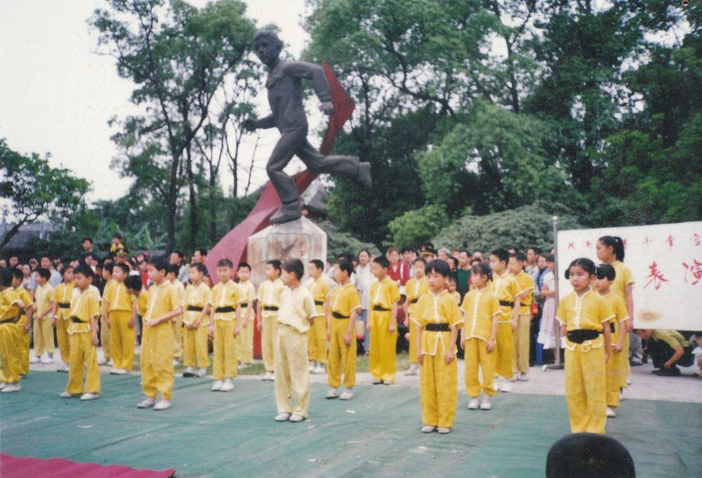 Doing Kung Fu
