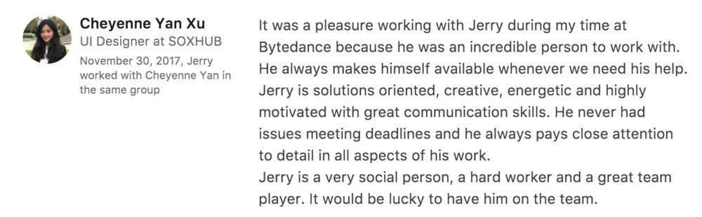 Former Coworker From Bytedance