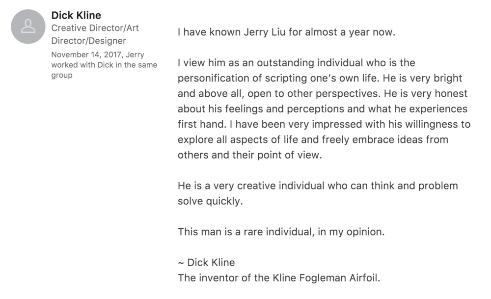 Inventor Dick Kline