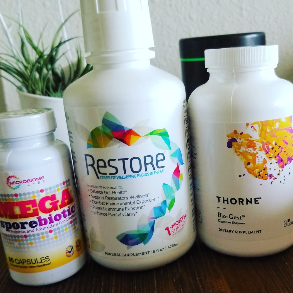3 Key Gut support supplements I have used in hundreds of successful clinical cases.