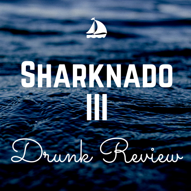 Sharknado3 drunk review by Anela of Saving Face Beauty