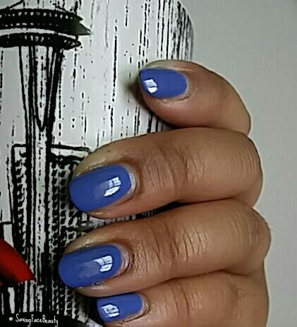 Manicure Monday: Essie Pret a Surfer a la Saving Face Beauty