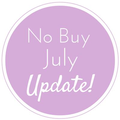 no-buy-july-update