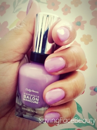 Sally Hansen Complete Salon Manicure in Grape Gatsby