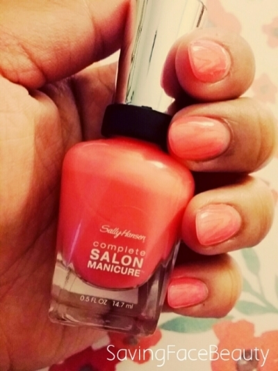 Sally Hansen Complete salon Manicure in Get Juiced