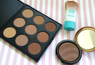 morphe-maybelline-makeupforever-bronzers