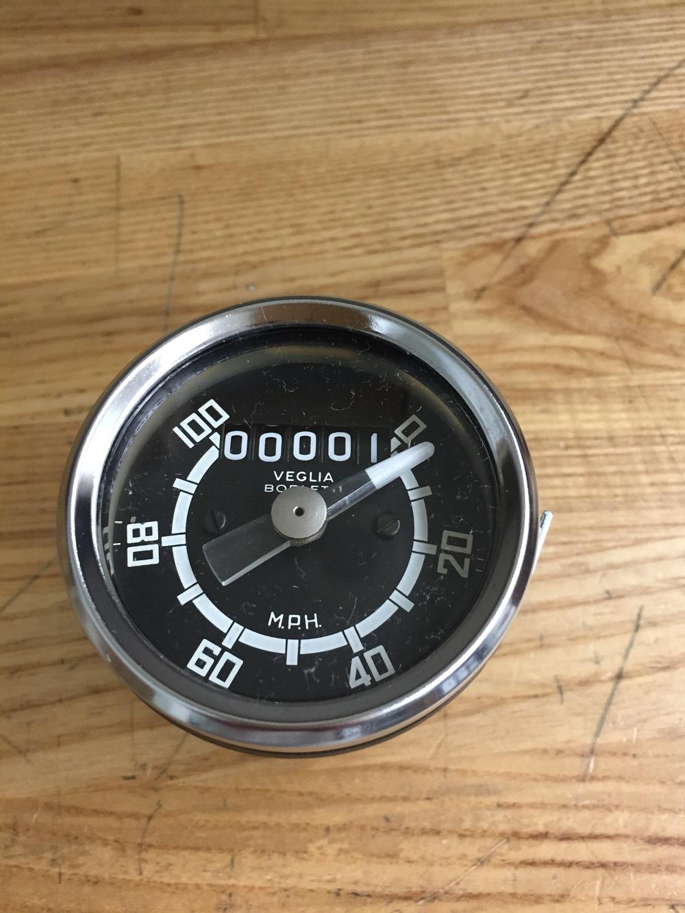 M. Rindler NOS Scrambler Speedometer.JPG